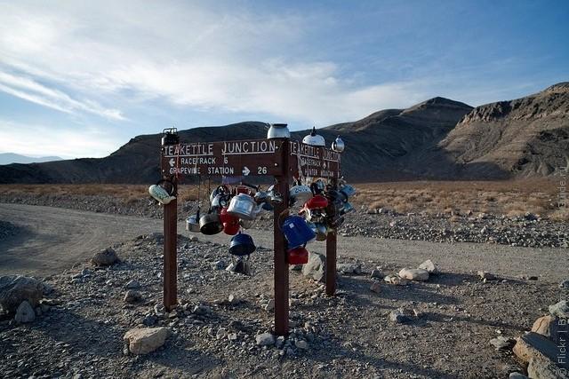 Движущиеся камни – Долина Смерти. Калифорния