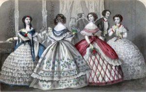 Мода 1850-ых годов