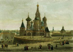Храм Василия Блаженного - история создания