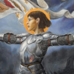 Народная героиня франции Жанна Д'арк