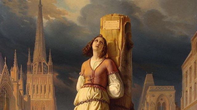 an analysis of the trial of jeanne darc Joan's real name was jehanne d'arc, jehanne tarc, jehanne romée or possibly jehanne de vouthon—but she didn't go by any of these joan didn't hail from a place called arc, as the typical anglicization of her father's surname, d'arc (sometimes rendered as darc or tarc), might imply.