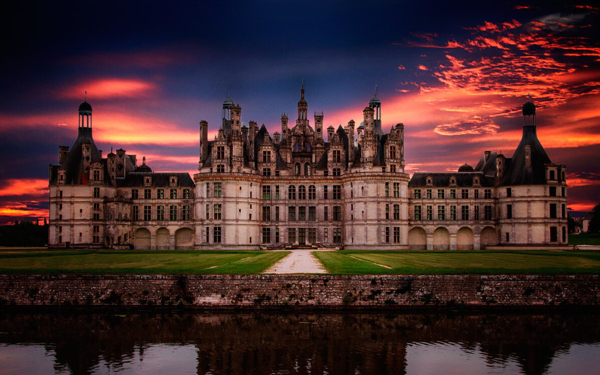 Картинки с замками и дворцами