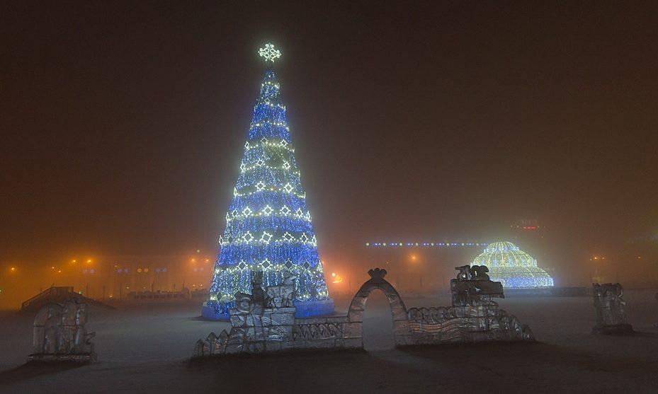 Самый холодный город в России
