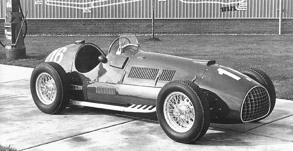 Первый автомобиль Ferrari