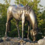 Памятники лошадям