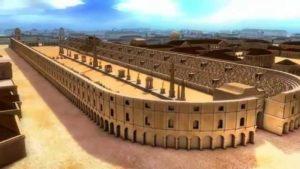 Римский Большой Цирк был самым большим спортивным стадионом в Римской Империи